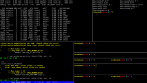 tmux screenshot