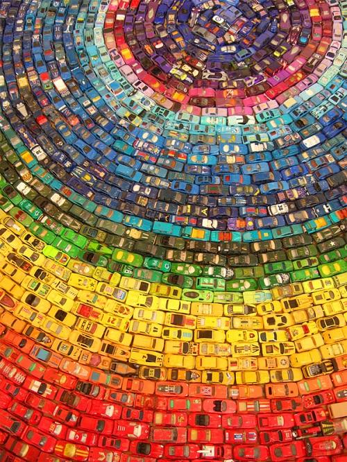 toy car rainbow