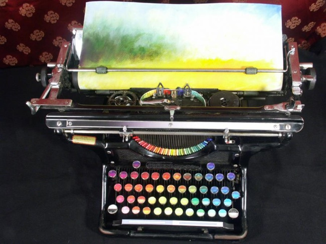 Chromatic Typewriter 1