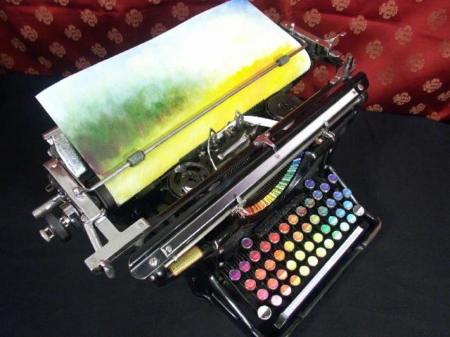 Chromatic Typewriter 3