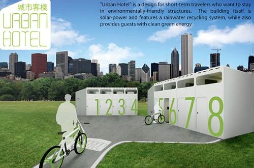 urban hotel concept design