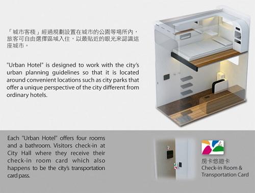 urban hotel interior concept