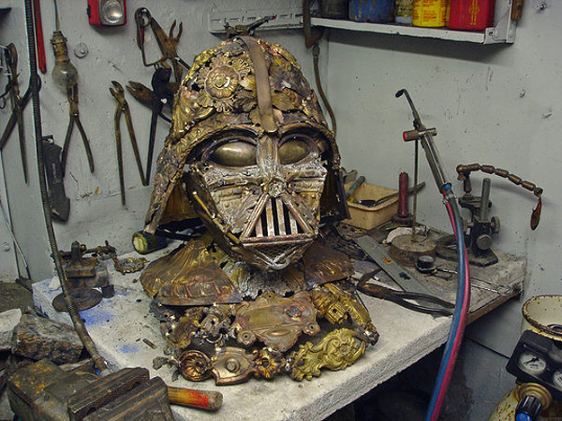 Vader Bust 2