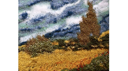 van gogh made from spice