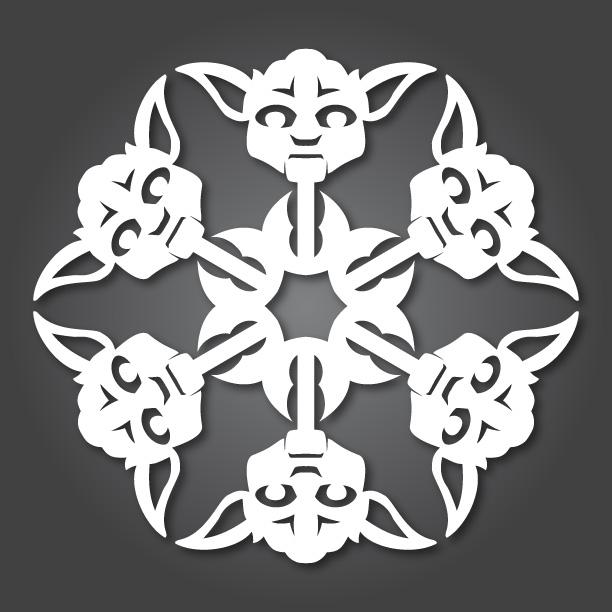 yoda-snowflake