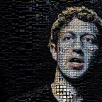 Mark Zuckerberg mosaic