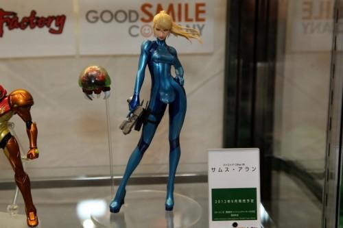 Good Smile Company's Samus Aran Zero Suit Armor Figure Image