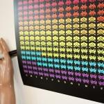 2012 alien invader calendar space invaders