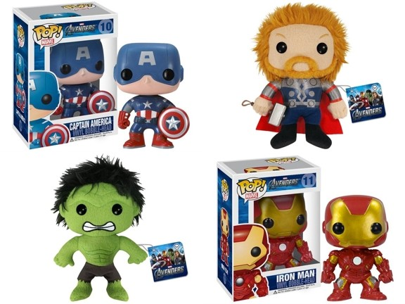 Avengers-plushies