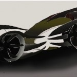 Batmobile Concept by Phil Moo