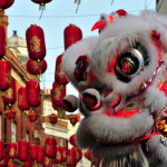 Chinese Dragon for London's Chinese New Yea