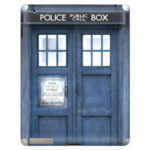 Doctor Who TARDIS skin iPad 2 Image