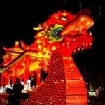 Dragon at Global Winter Wonderland