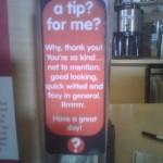 Flattering Tip Jar