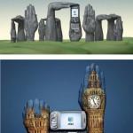 Handpainting ads