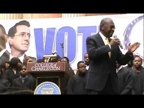 Herman Cain Sings Pokemon 2000 Theme Image