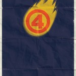 Human Torch Poster