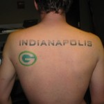 Indianapolis Super Bowl Tattoo