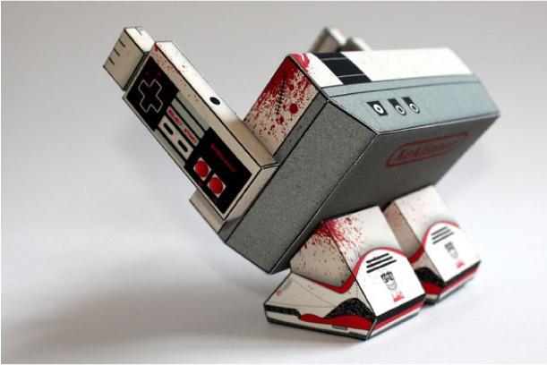 rear of NES Monster