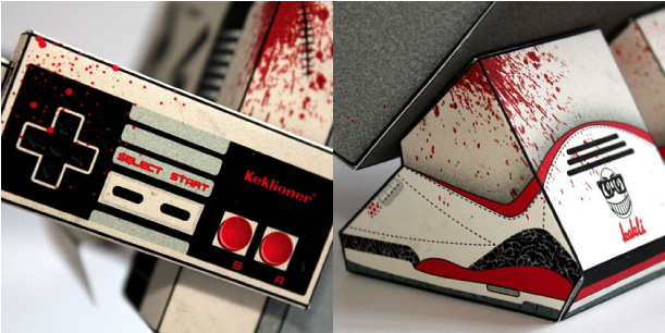 Close up of NES monster