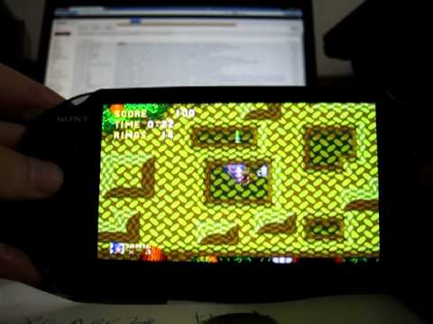 Picodrive Sega Emulator On PS Vita Image