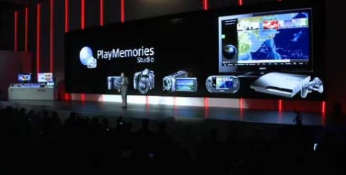 PlayMemories PS Vita CES 2012 Image