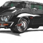 Retro Chevy Chevelle Batmobile Concepts