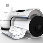 Roller Paper Printer by  Jin Woo Han