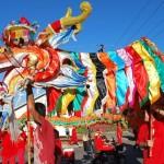 Sammy the Dragon, Float Parade, Broome