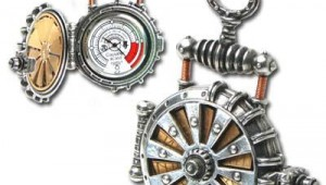Solar Powered Steampunk Pocket Watch