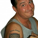 Super Bowl Tattoo