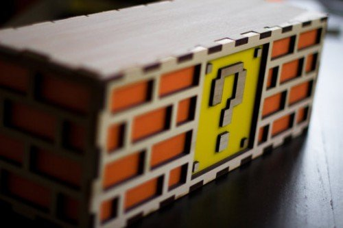 Super Mario Question Block Lamp Image