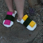 Sushi Slippers