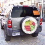 Sushi Tire Cover