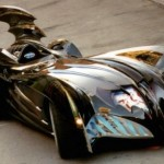 The Batmobile From A GM V8 Crate Motor