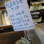 Tip Jar for the Rich