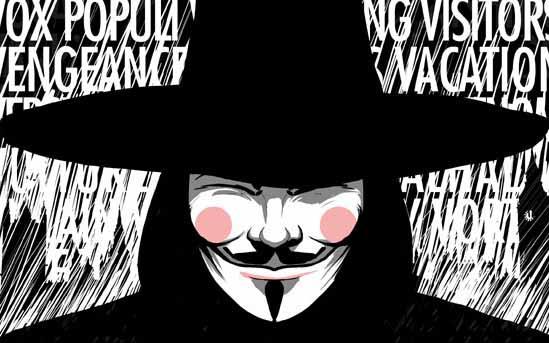 V for Vendetta quotes