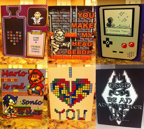 Valentine's Gaming-Themed Greeting Cards From RockPaperScisorz Image
