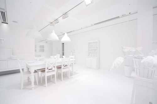 Yayoi Kusama The obliteration room Blank Table Image