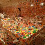 Yayoi Kusama's 'The obliteration room' Image 2