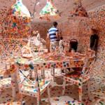 Yayoi Kusama's 'The obliteration room' Image 3