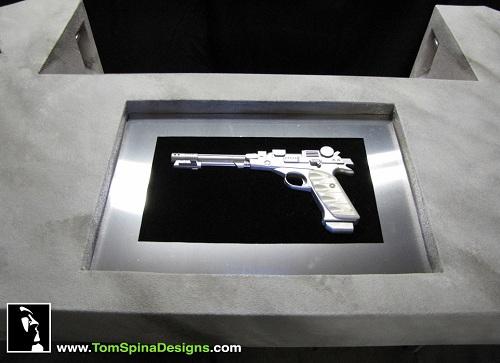 avengers desk pistol case