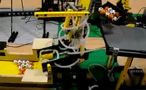 awesome lego machine