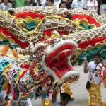 ceremonial dragon dance