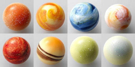 L'Eclat choclate planets