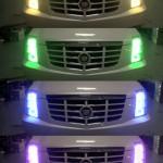 color changing headlights purple