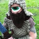 crochet cyclops costume