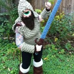 crocheted cyclops costume