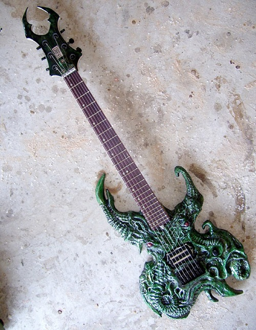 cthulhu electric guitar