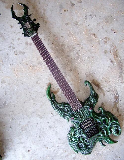 cthulhu electric guitar